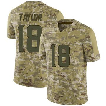 Youth Nike Minnesota Vikings Jordan Taylor Camo 2018 Salute to Service Jersey - Limited