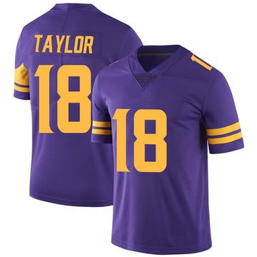 Youth Nike Minnesota Vikings Jordan Taylor Purple Color Rush Jersey - Limited