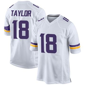 Youth Nike Minnesota Vikings Jordan Taylor White Jersey - Game