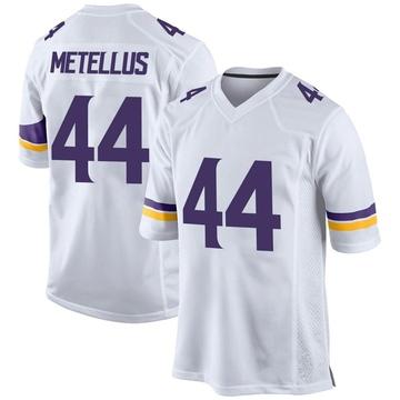 Youth Nike Minnesota Vikings Josh Metellus White Jersey - Game