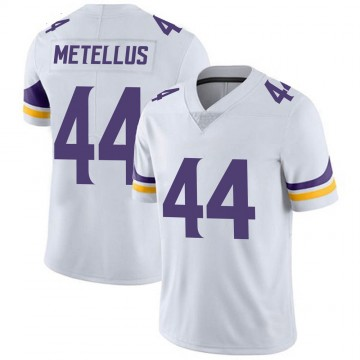 Youth Nike Minnesota Vikings Josh Metellus White Vapor Untouchable Jersey - Limited