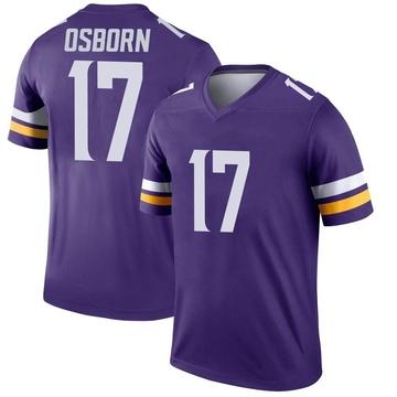 Youth Nike Minnesota Vikings K.J. Osborn Purple Jersey - Legend
