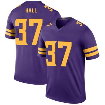 Youth Nike Minnesota Vikings Kemon Hall Purple Color Rush Jersey - Legend