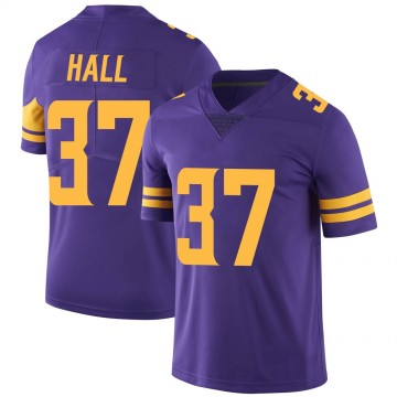 Youth Nike Minnesota Vikings Kemon Hall Purple Color Rush Jersey - Limited