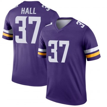 Youth Nike Minnesota Vikings Kemon Hall Purple Jersey - Legend