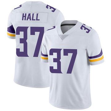Youth Nike Minnesota Vikings Kemon Hall White Vapor Untouchable Jersey - Limited
