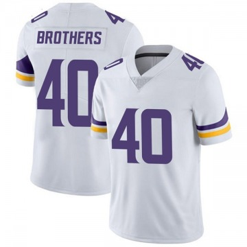 Youth Nike Minnesota Vikings Kentrell Brothers White Vapor Untouchable Jersey - Limited
