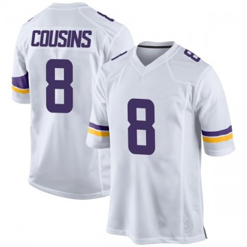 Youth Nike Minnesota Vikings Kirk Cousins White Jersey - Game