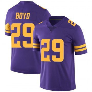 Youth Nike Minnesota Vikings Kris Boyd Purple Color Rush Jersey - Limited