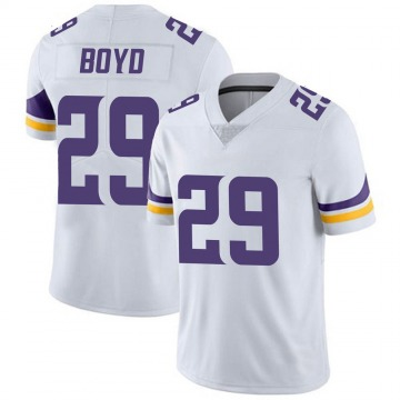 Youth Nike Minnesota Vikings Kris Boyd White Vapor Untouchable Jersey - Limited
