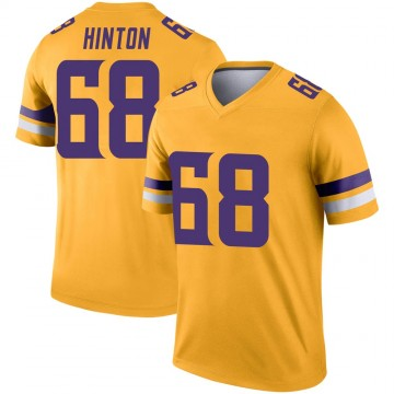 Youth Nike Minnesota Vikings Kyle Hinton Gold Inverted Jersey - Legend