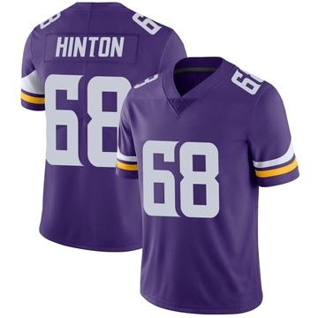 Youth Nike Minnesota Vikings Kyle Hinton Purple Team Color Vapor Untouchable Jersey - Limited