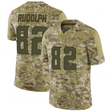 Youth Nike Minnesota Vikings Kyle Rudolph Camo 2018 Salute to Service Jersey - Limited