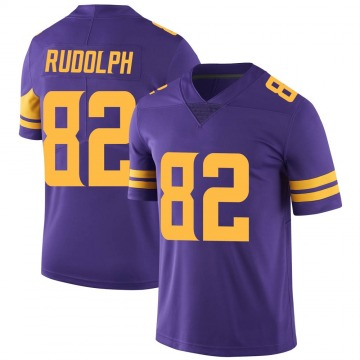 Youth Nike Minnesota Vikings Kyle Rudolph Purple Color Rush Jersey - Limited