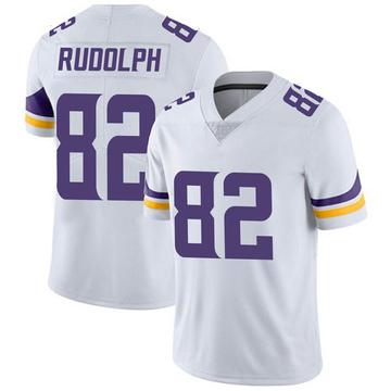 Youth Nike Minnesota Vikings Kyle Rudolph White Vapor Untouchable Jersey - Limited