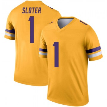 Youth Nike Minnesota Vikings Kyle Sloter Gold Inverted Jersey - Legend