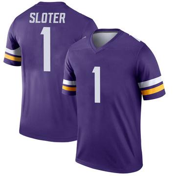 Youth Nike Minnesota Vikings Kyle Sloter Purple Jersey - Legend