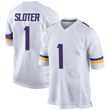 Youth Nike Minnesota Vikings Kyle Sloter White Jersey - Game