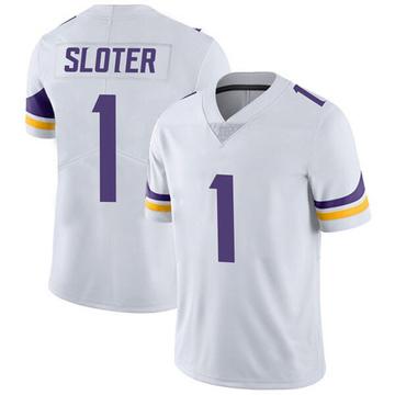 Youth Nike Minnesota Vikings Kyle Sloter White Vapor Untouchable Jersey - Limited