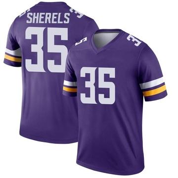 Youth Nike Minnesota Vikings Marcus Sherels Purple Jersey - Legend