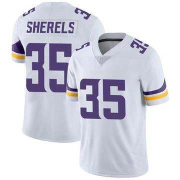 Youth Nike Minnesota Vikings Marcus Sherels White Vapor Untouchable Jersey - Limited