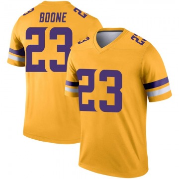 Youth Nike Minnesota Vikings Mike Boone Gold Inverted Jersey - Legend