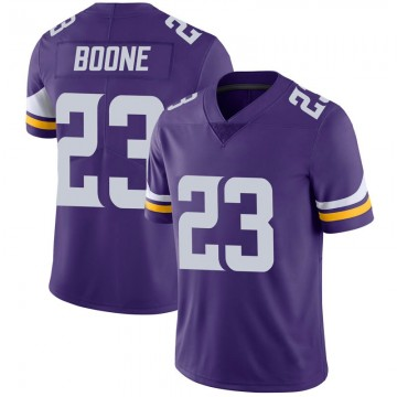 Youth Nike Minnesota Vikings Mike Boone Purple 100th Vapor Jersey - Limited