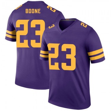 Youth Nike Minnesota Vikings Mike Boone Purple Color Rush Jersey - Legend