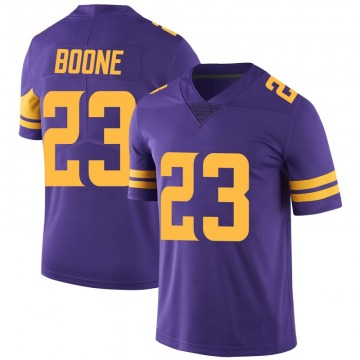 Youth Nike Minnesota Vikings Mike Boone Purple Color Rush Jersey - Limited