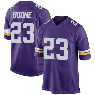 Youth Nike Minnesota Vikings Mike Boone Purple Team Color Jersey - Game