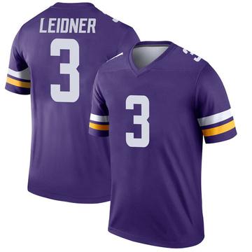 Youth Nike Minnesota Vikings Mitch Leidner Purple Jersey - Legend