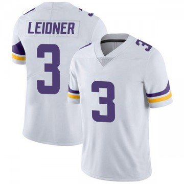 Youth Nike Minnesota Vikings Mitch Leidner White Vapor Untouchable Jersey - Limited