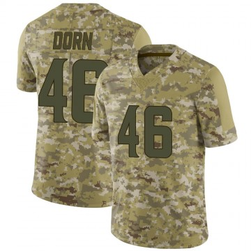 Youth Nike Minnesota Vikings Myles Dorn Camo 2018 Salute to Service Jersey - Limited