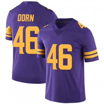 Youth Nike Minnesota Vikings Myles Dorn Purple Color Rush Jersey - Limited