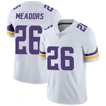 Youth Nike Minnesota Vikings Nate Meadors White Vapor Untouchable Jersey - Limited