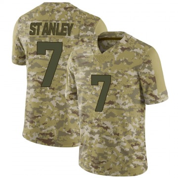 Youth Nike Minnesota Vikings Nate Stanley Camo 2018 Salute to Service Jersey - Limited