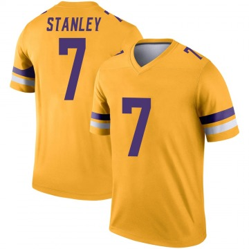 Youth Nike Minnesota Vikings Nate Stanley Gold Inverted Jersey - Legend