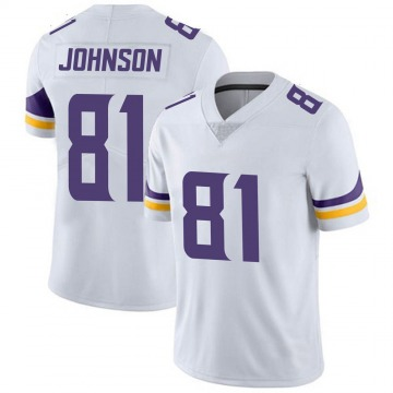 Youth Nike Minnesota Vikings Olabisi Johnson White Vapor Untouchable Jersey - Limited