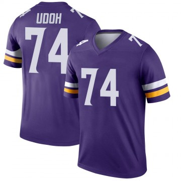 Youth Nike Minnesota Vikings Olisaemeka Udoh Purple Jersey - Legend