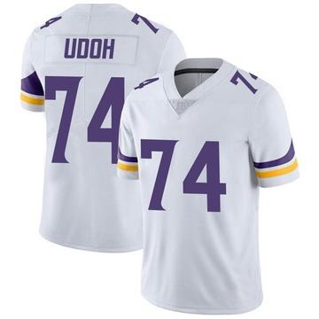 Youth Nike Minnesota Vikings Olisaemeka Udoh White Vapor Untouchable Jersey - Limited
