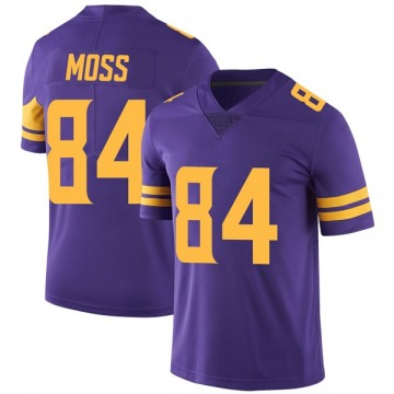 Youth Nike Minnesota Vikings Randy Moss Purple Color Rush Jersey - Limited