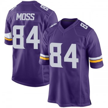 Youth Nike Minnesota Vikings Randy Moss Purple Team Color Jersey - Game