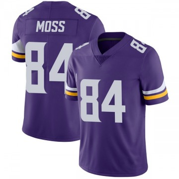 Youth Nike Minnesota Vikings Randy Moss Purple Team Color Vapor Untouchable Jersey - Limited