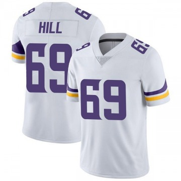 Youth Nike Minnesota Vikings Rashod Hill White Vapor Untouchable Jersey - Limited