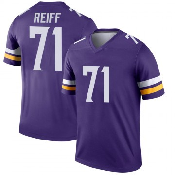 Youth Nike Minnesota Vikings Riley Reiff Purple Jersey - Legend