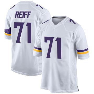 Youth Nike Minnesota Vikings Riley Reiff White Jersey - Game