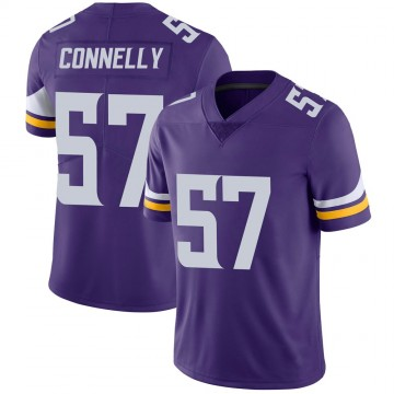 Youth Nike Minnesota Vikings Ryan Connelly Purple 100th Vapor Jersey - Limited