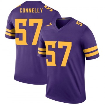 Youth Nike Minnesota Vikings Ryan Connelly Purple Color Rush Jersey - Legend