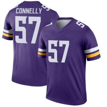 Youth Nike Minnesota Vikings Ryan Connelly Purple Jersey - Legend