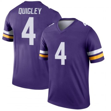Youth Nike Minnesota Vikings Ryan Quigley Purple Jersey - Legend